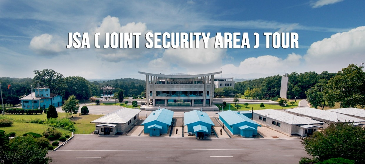 Joint security area, JSA tour, DMZ tour